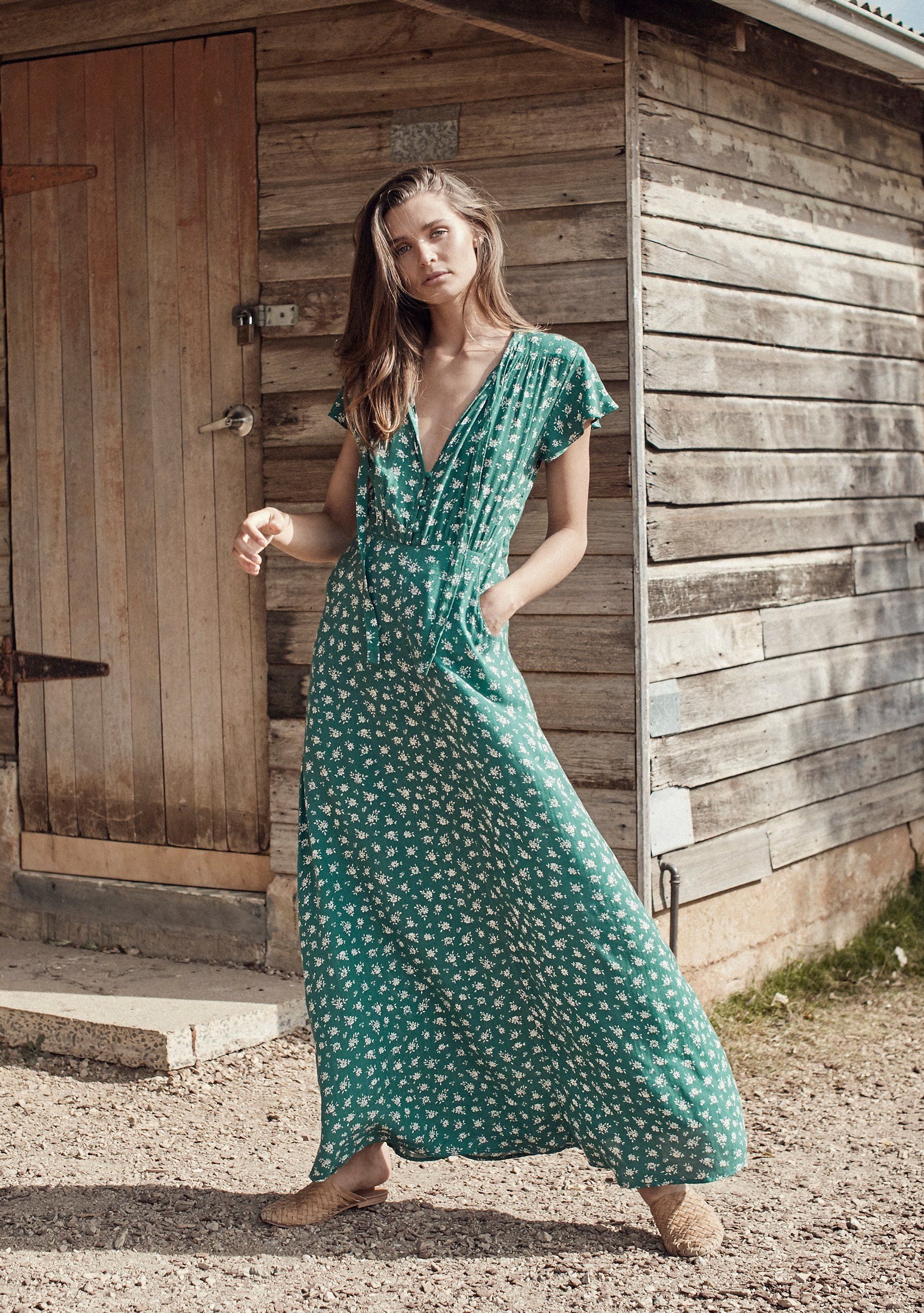 86024fc09433 Auguste The Label Ava Wylde Maxi Dress Sage     affiliatelink  ad  affiliate