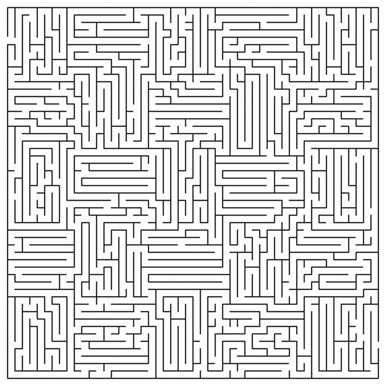 Uncategorized Hardest Maze Ever Printable pinterest maze homeschool and forensics very difficult mazes coloring page