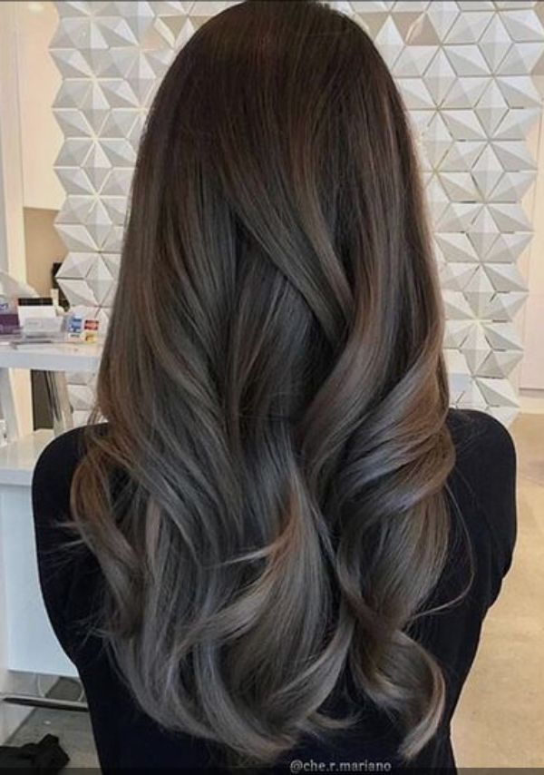 Ash Brunette Brunette Hair Color Cool Hair Color Ash