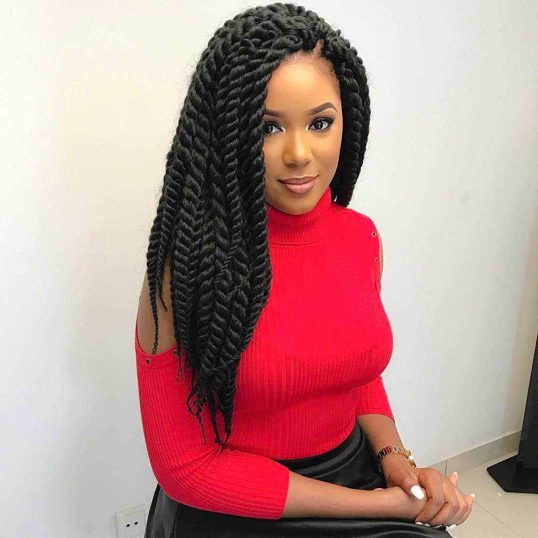 havana twists hair and beauty pinterest big box braids