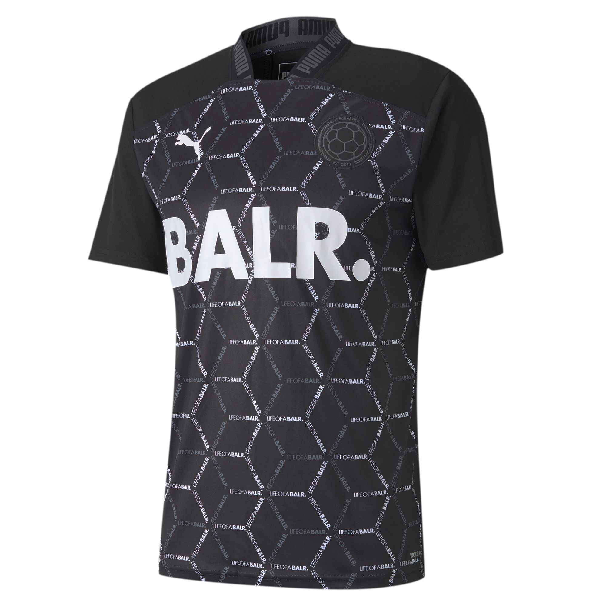 PUMA x Balr. Men's Match Shirt in Black size X Large ...
