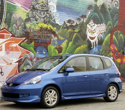 the honda fit is great for a single parent with two kids because it has