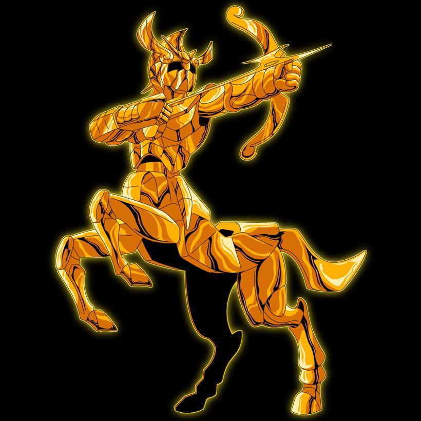 primera armadura de sagitario | Saint seiya, Tatuajes de ...  Armadura De Sagitario