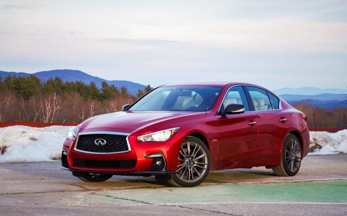 With The 2020 Infiniti Q50 Style Comes Standard The Cargurus Blog In 2020 Infiniti Q50 Infiniti Nissan Infiniti