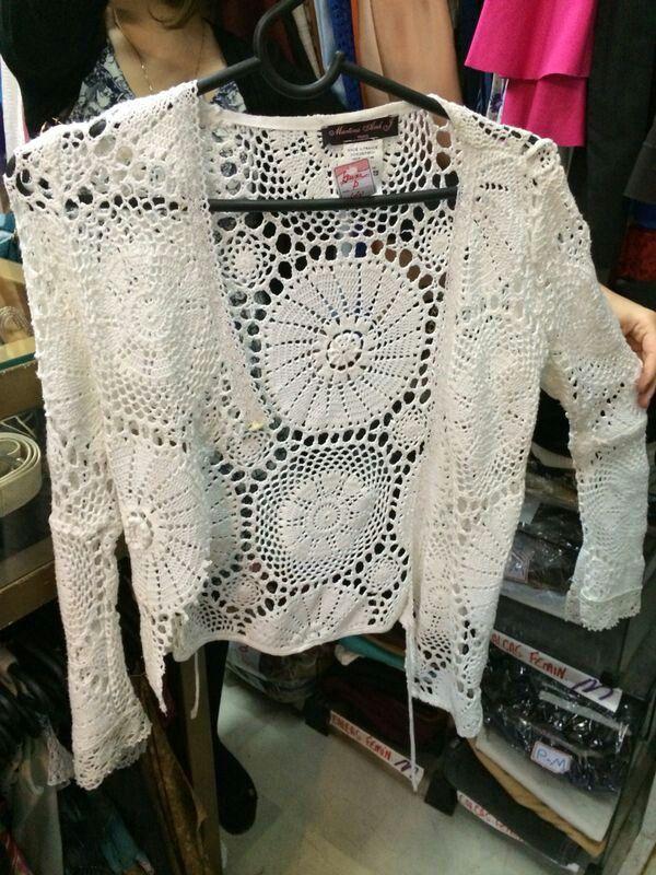Casaqueto crochet
