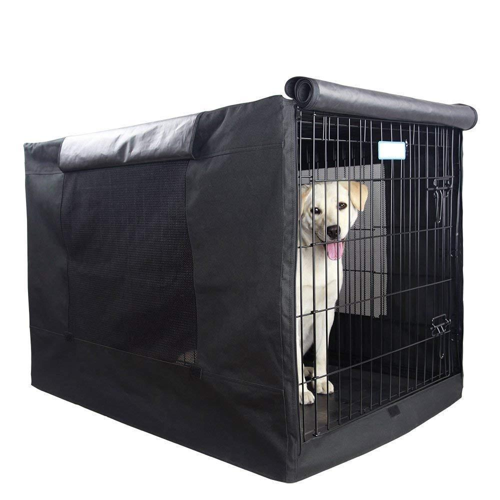 Extra Large Dog Crate Kennel Xl Pet Wire Cage Huge Cover Folding Giant Breed 42 Ebay Dog Crate Cover Dog Crate Midwest Dog Crates