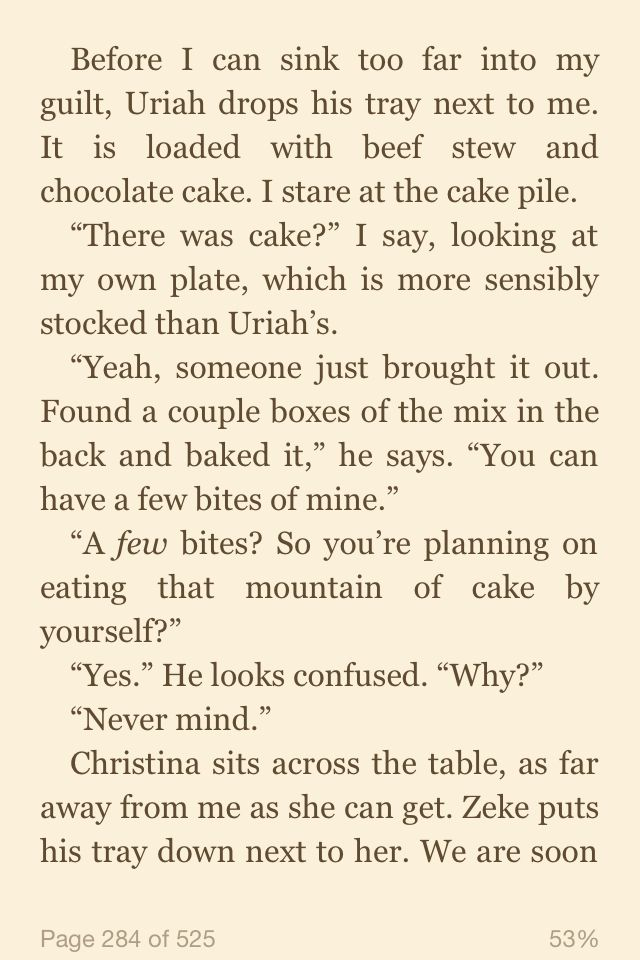 Dauntless cake <3 great page in this fine book!!