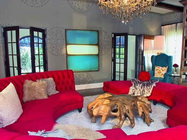 Eclectic | Living Rooms | David Bromstad : Designer ...