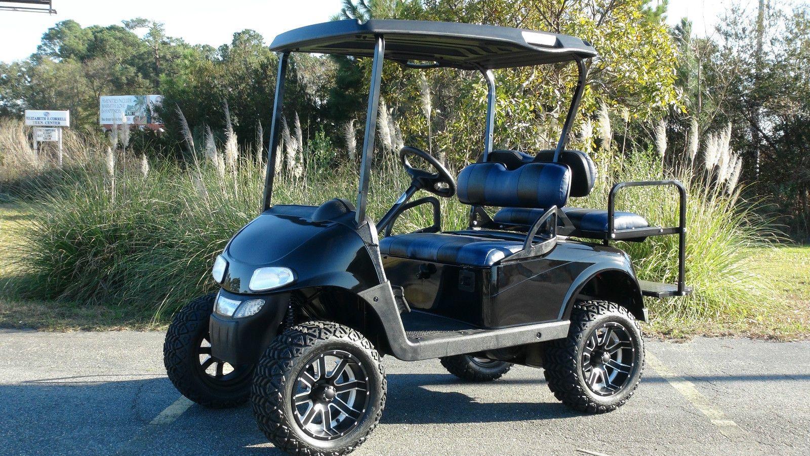 EZGO RXV GAS GOLF Cart/ Refurbished Custom / 4 Penger / Lifted ... Gas Powered Ez Go Golf Carts Html on