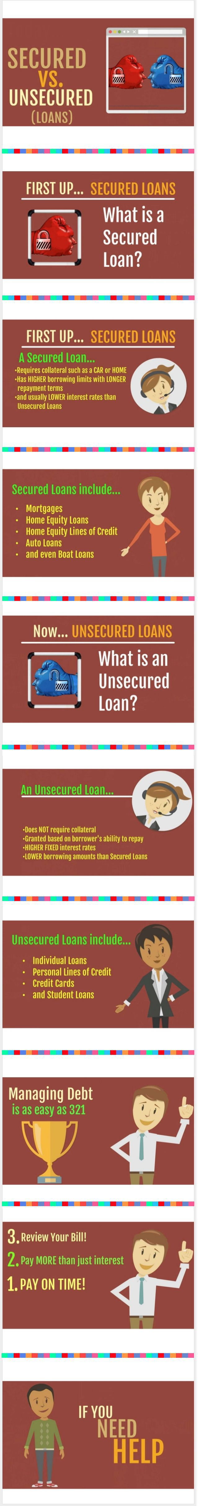 Secured Debts Vs Unsecured Debts What Is The Difference Personal Loans Personal Loans Online How To Apply