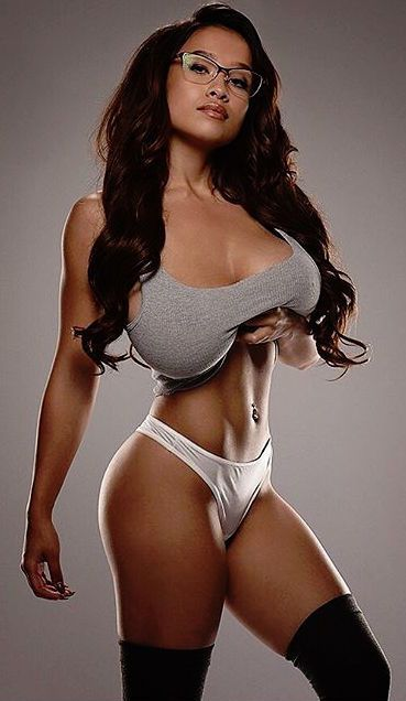 Busty babe workout clips photos 361