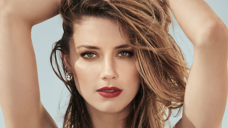 Actresses Amber Heard Actress American Blonde Face Lipstick 4k Wallpaper Hdwallpaper Desktop In 2020 Long Hair Styles Amber Heard Actresses