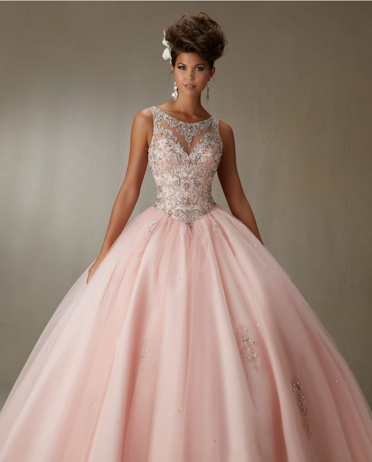 24 Rose Gold Quinceanera Dresses For Wedding Days