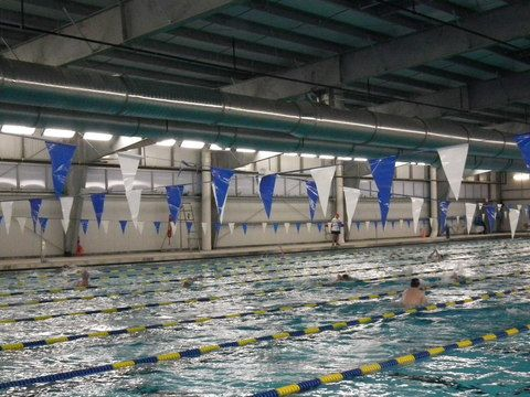 Berkeley Aquatic Club Holds First Swim Practice In New Facility In New Providence Swim Practice Swimming Olympic Size Pool