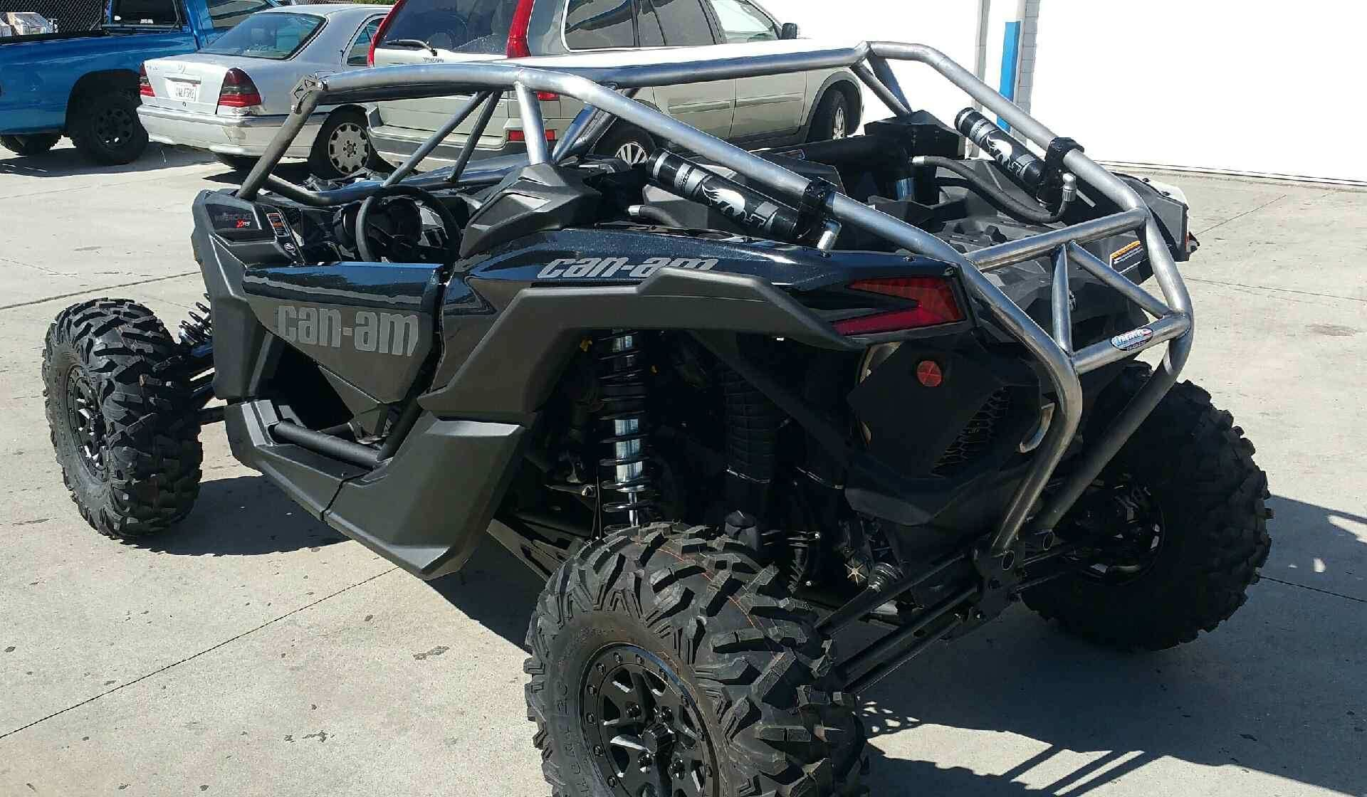 Fine Fabwerx Can Am Maverick X3 Baja Roll Cage W Bumper Beach Gmtry Best Dining Table And Chair Ideas Images Gmtryco
