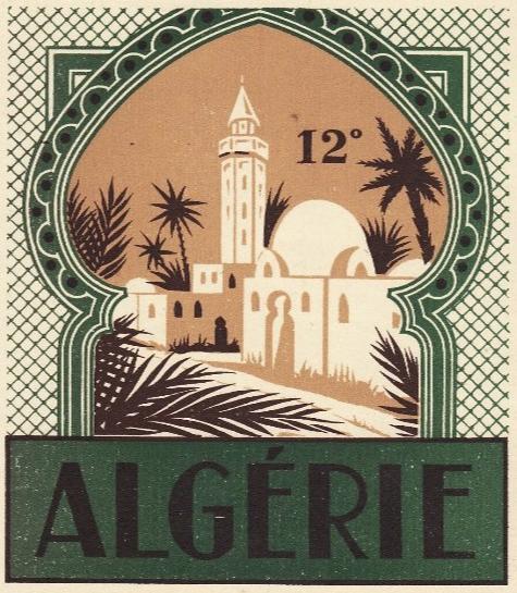 Produit D Algerie Vintage Postcards Travel Vintage Travel Posters Vintage Advertising Posters