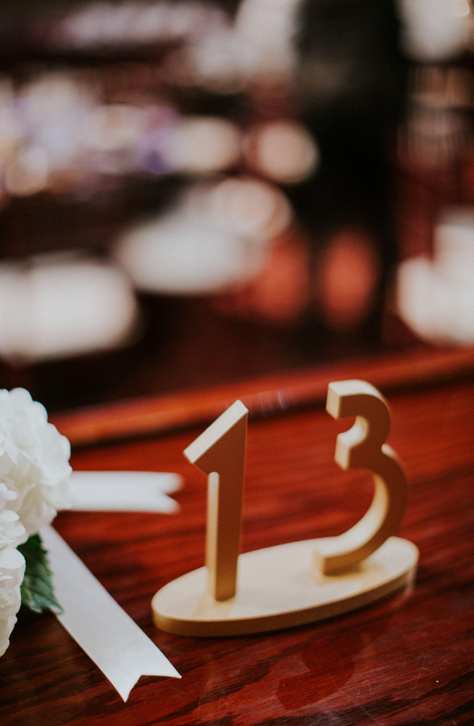 1920s wedding decoration ideas  Gatsby Style Wedding Table Numbers  Handmade Wedding Decor u Gifts