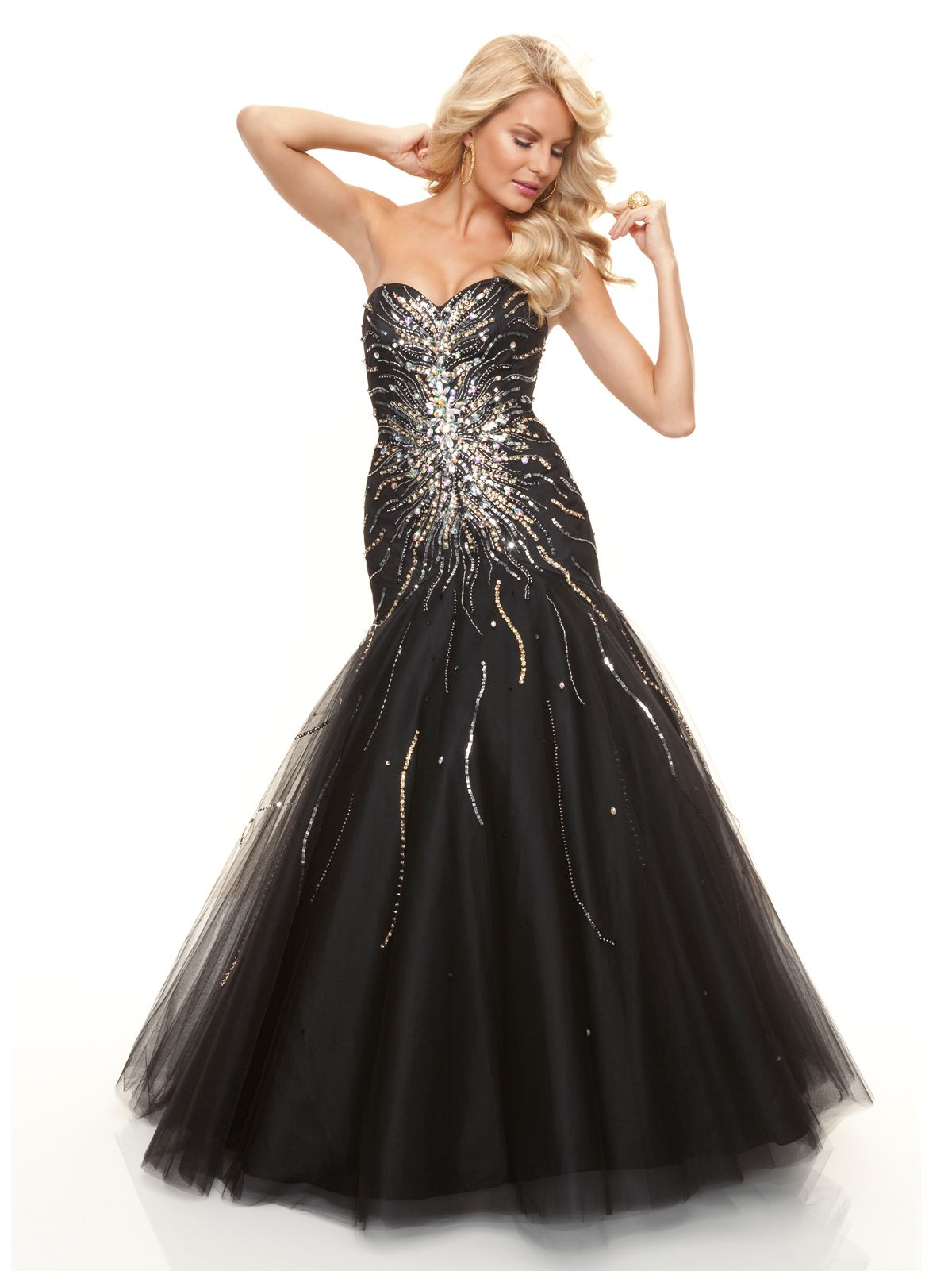 05d81980c9 Size 10 Black In StockDazzling prom gown that will make you shine on your  prom night. This sparkly mermaid Mori Lee Prom Dress 93031 displays a  sweetheart ...