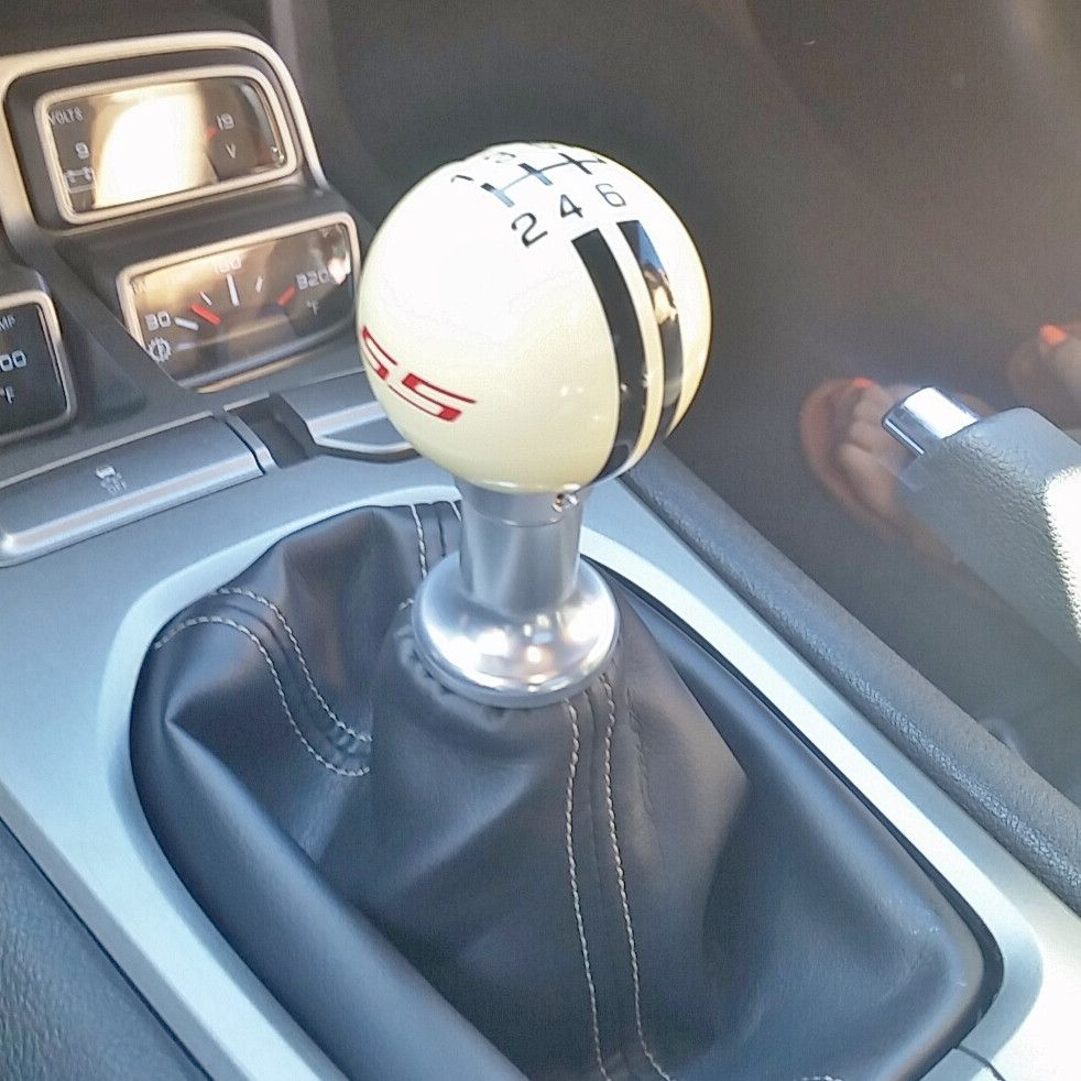2010 2011 2012 Camaro 6 Speed Shifter Adapter | Custom Shift Knobs