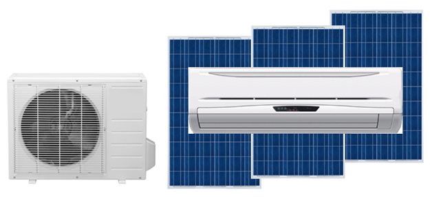 Solar Air Conditioner A C Mitsubishi Capacity 1 Ton 1 5 Ton Solar Panel Required For Day Time Running 1 Solar Air Conditioner Solar Ac Solar Heating