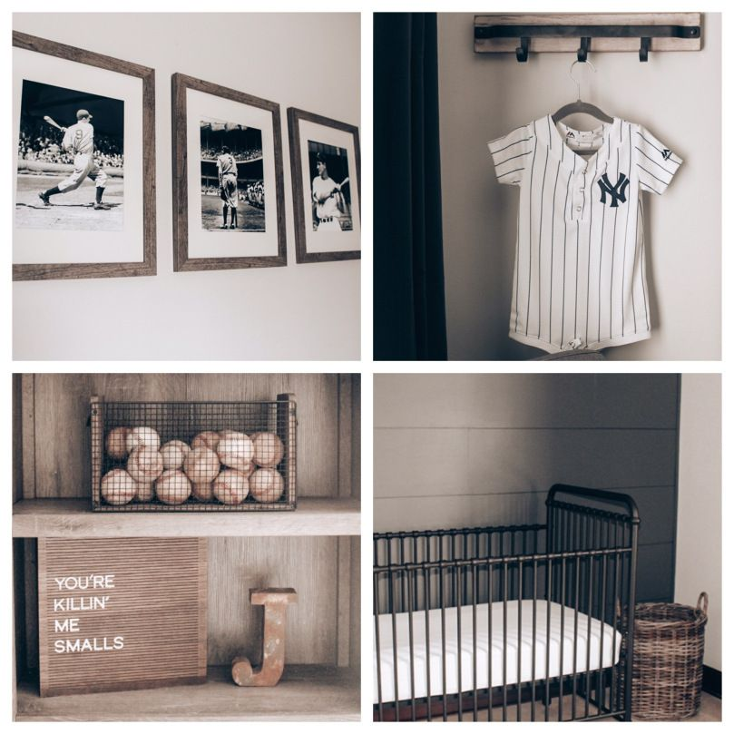 Baby Boy Baseball Nursery
