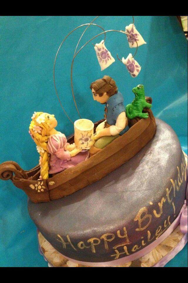 At Last I've Seen The Light Cake From Gabby's Custom Cakes