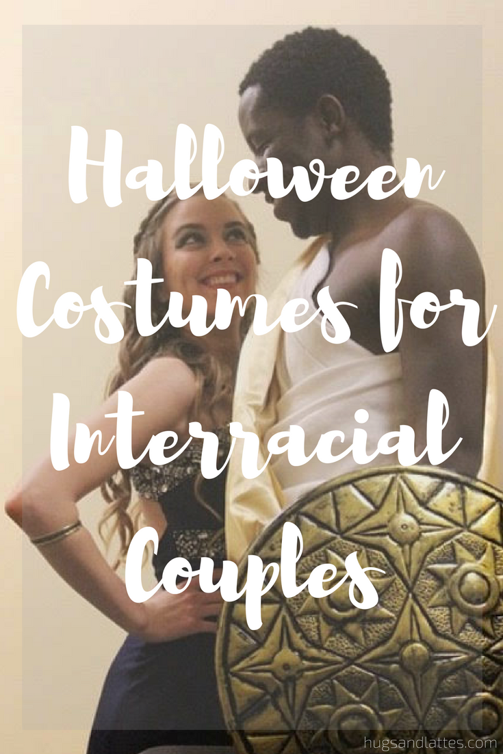 Interracial couple costumes