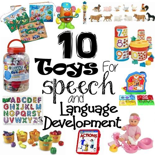 Toys For Preschoolers With Language Delays : Toys for speech and language development