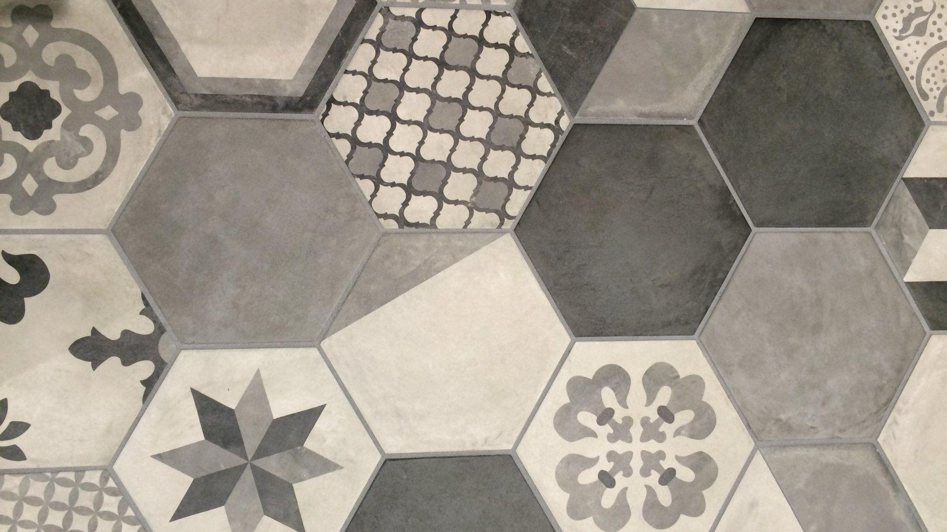 Marca corona terra piastrelle esagonali porcelain tile