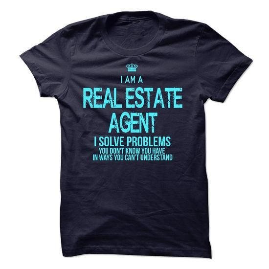 I Am AReal Estate Agent T Shirts, Hoodies. Check price ==► https://www.sunfrog.com/LifeStyle/I-Am-AReal-Estate-Agent-36977336-Guys.html?41382