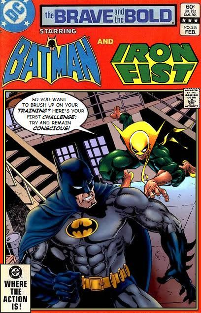 Super-Team Family: The Lost Issues!: Batman And Iron Fist