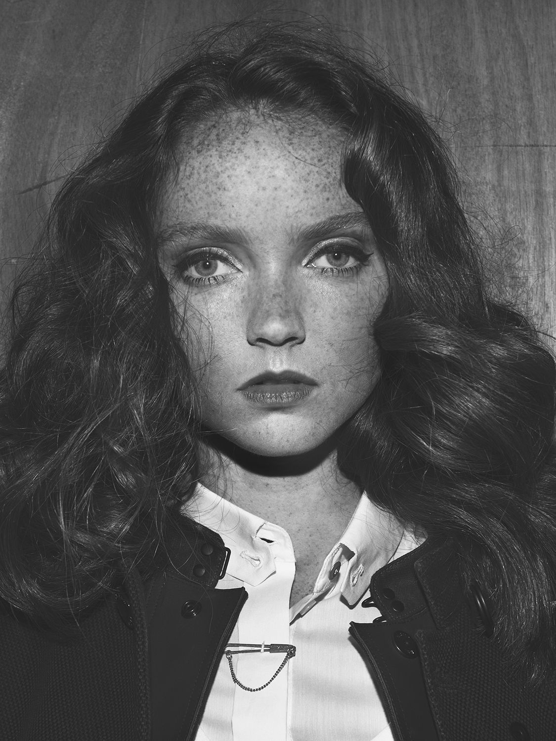 Lily Cole for G-star ( (c) Robin de Puy)