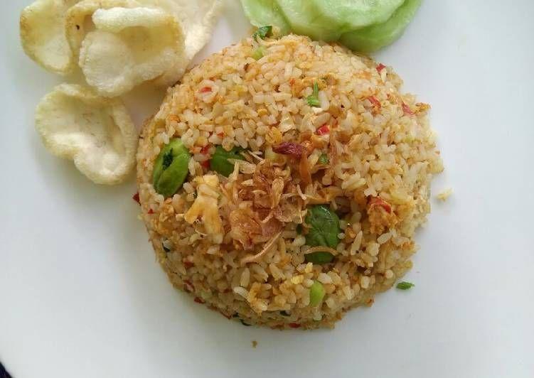 Resep Nasi Goreng Tomat Pete Oleh Yovira Nasution Resep Makan Siang Resep Nasi Goreng Resep Nasi