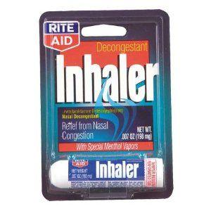 Rite Aid Nasal Decongestant Inhaler 1 ea by Rite Aid. $1.67. Levmetamfetamine (I- desoxyephedrine)Nasal DecongestantRelief from Nasal