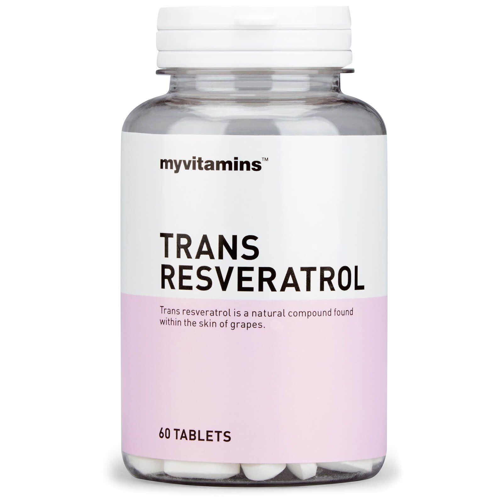 Trans Resveratrol Tablets Resveratrol Medicine Packaging