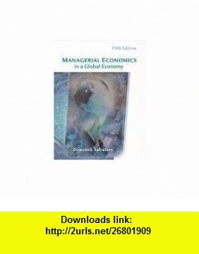 Managerial economics in a global economy with economic managerial economics in a global economy with economic applications card 9780324171877 dominick salvatore fandeluxe Image collections