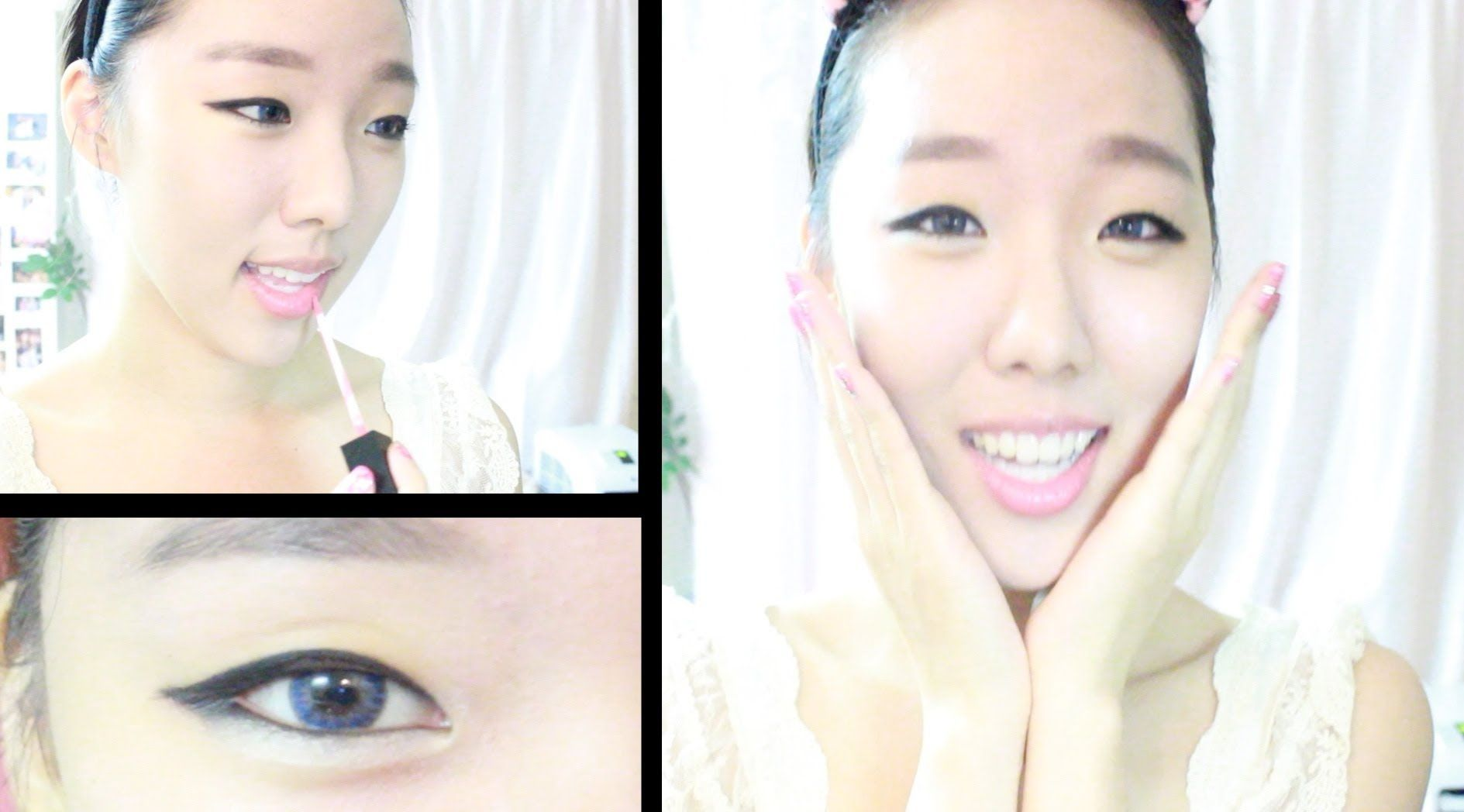 ulzzang cute innocent korean makeup tutorial   korean makeup