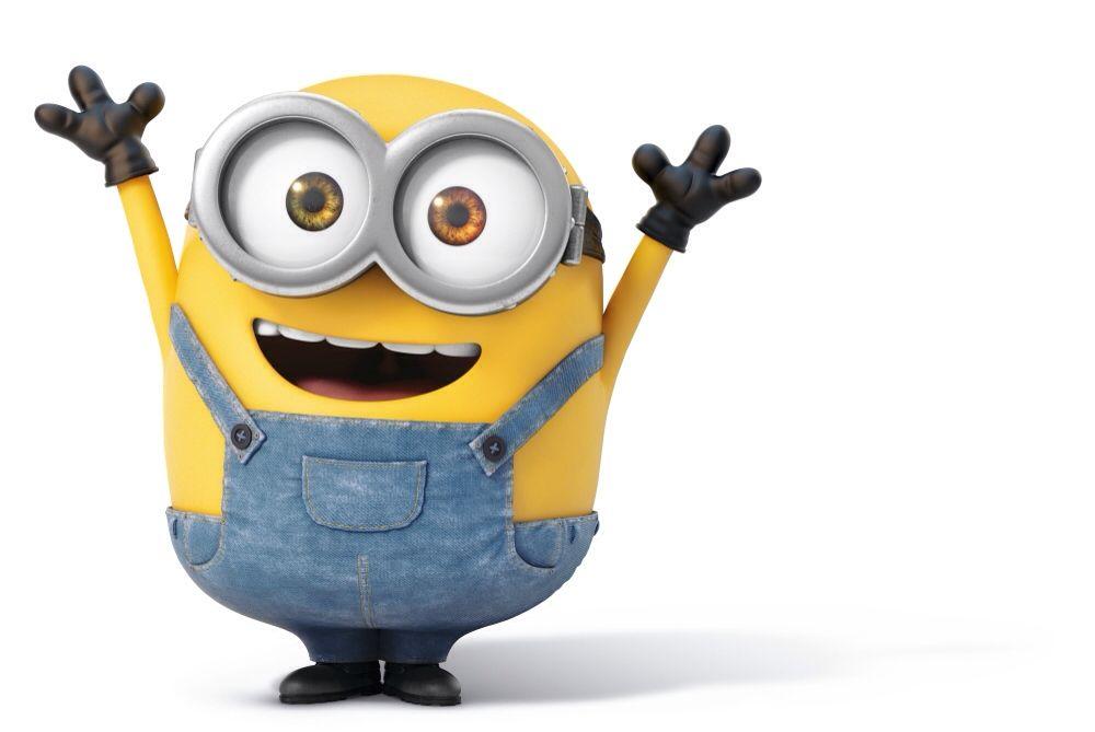 "Hurray!""   Happy minions, Minions funny, Minions wallpaper"