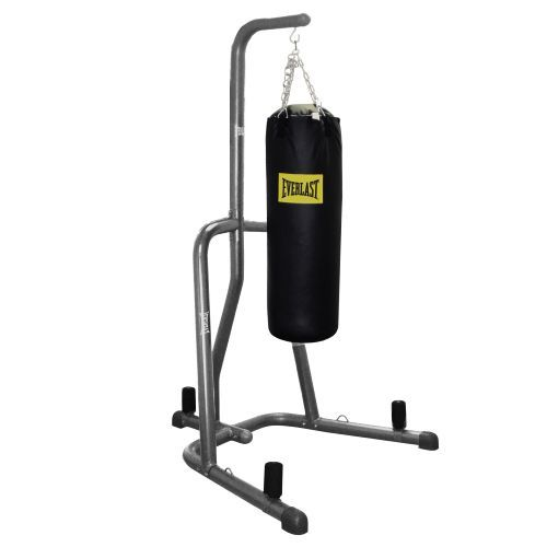 2M 90° Heavy Punching Bag Boxing Stand Triangle Station MMA Trainer Fitness Gym