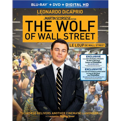 The Wolf Of Wall Street (Blu-ray combo) (with 20 mins of Future Shop Exclusive content) (2013)