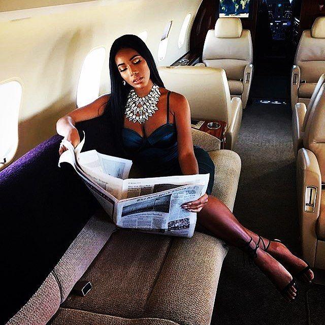 9f7691c2a0d1 female CEO  jet life  luxury lifestyle  womens luxury  boss life  black  women  successful