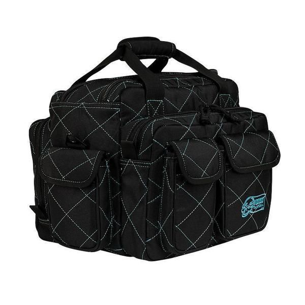 Scorpion Range Bag - Black W/ Purple Trim
