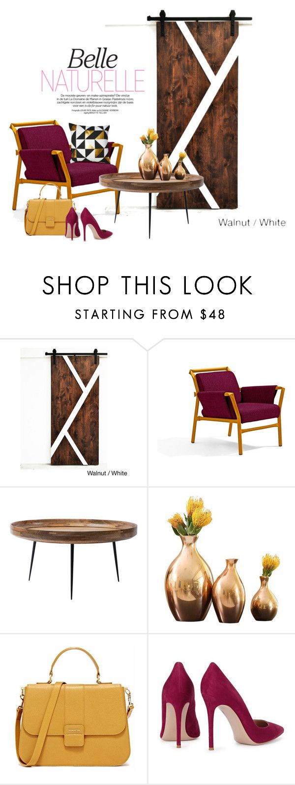 """""""SUPERKINK armchair..."""" by gloriettequartet ❤ liked on Polyvore featuring interior, interiors, interior design, home, home decor, interior decorating, mater, Global Views, Gianvito Rossi and EASTON"""