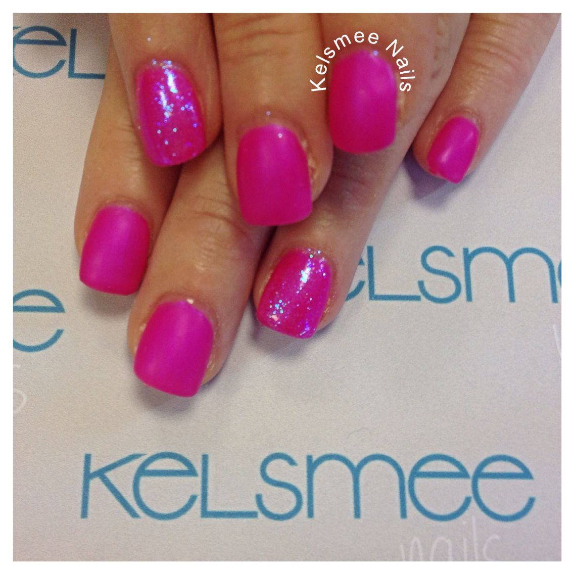 Young Nails maniq overlay pink matte Nails | Nails | Pinterest ...