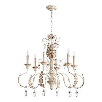 FREE SHIPPING! Shop Wayfair for Quorum Venice 6 Light Candle Chandelier - Great Deals on all Kitchen & Dining products with the best selection to choose from!