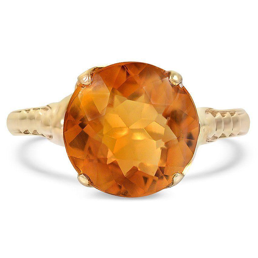 10k Yellow Gold The Ensenie Ring Gemstone Rings Vintage Vintage Sapphire Ring Rings