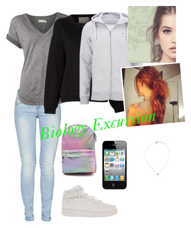"""""""Untitled #85"""" by felicite17 ❤ liked on Polyvore featuring ONLY, Nation LTD, Jason Wu, J.Lindeberg, NIKE and Neff"""