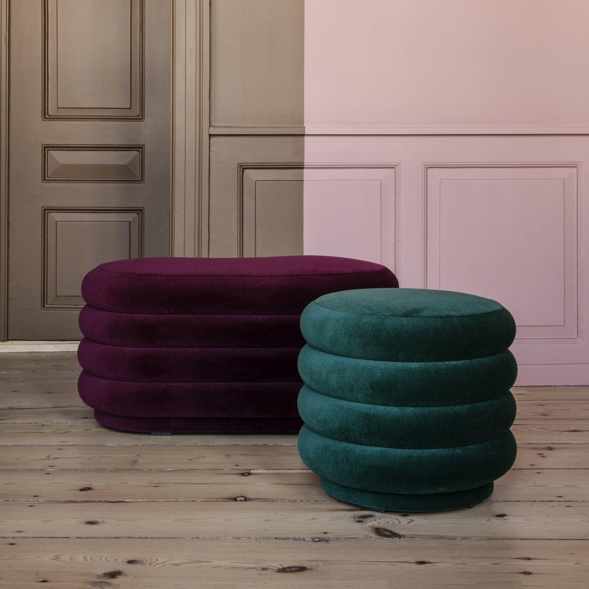 des pouf design et contemporain bordeaux et vert canard rond et ovale activewear colors and. Black Bedroom Furniture Sets. Home Design Ideas