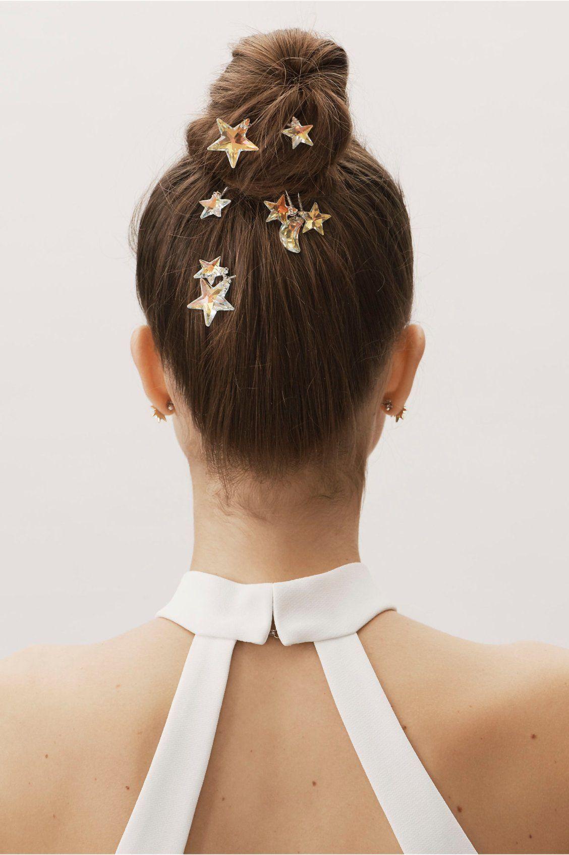 Atria Hair Pins from BHLDN   Hair pins, Hair styles ...