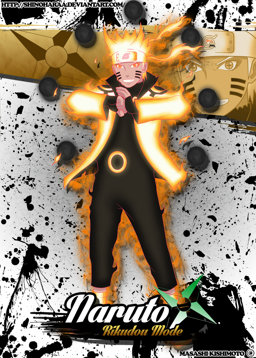 Wallpaper Naruto Rikudou Mode